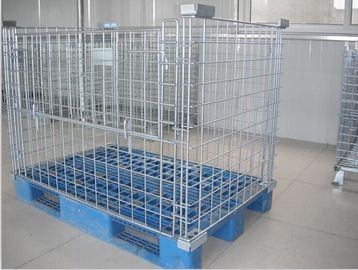 চীন Warehouse Storage Cages container Retail Shop Equipment For Supermarket কারখানা