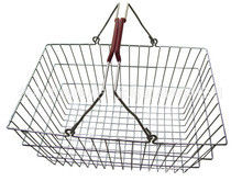 চীন Low Carbon Steel Hand - Held Metal Shopping Baskets With Handles 20 Liter কারখানা