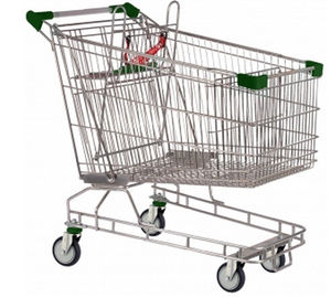 চীন Popular Supermarket Shopping Carts Australian Type Zinc Plated কারখানা
